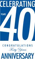 Celebrating 40 years Catalfumo Blue