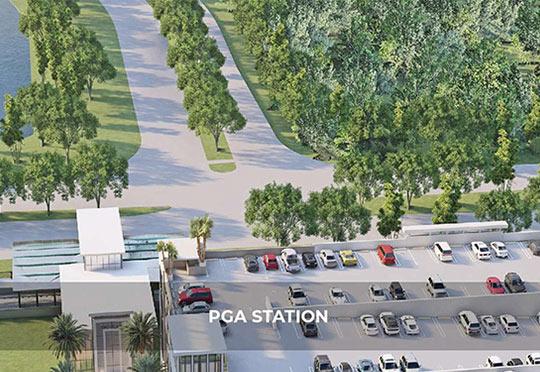 PGA STATION Portfolio Page