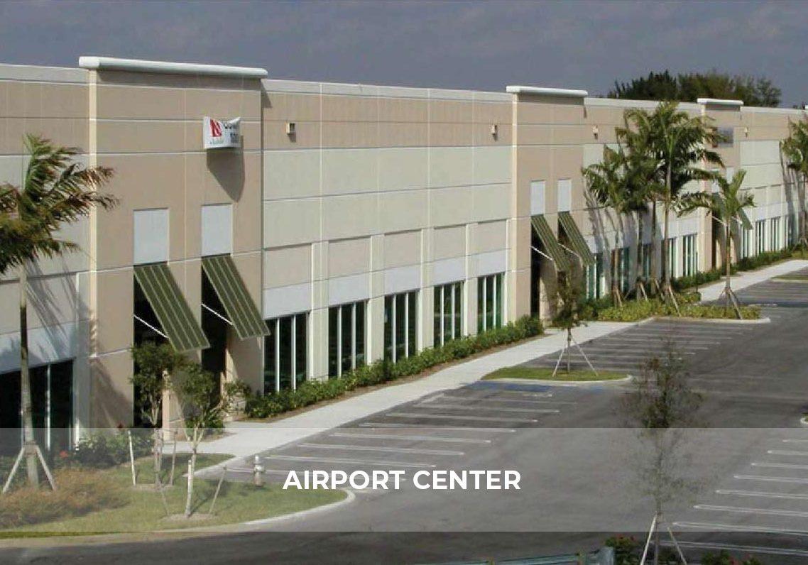 Airport Center Hero
