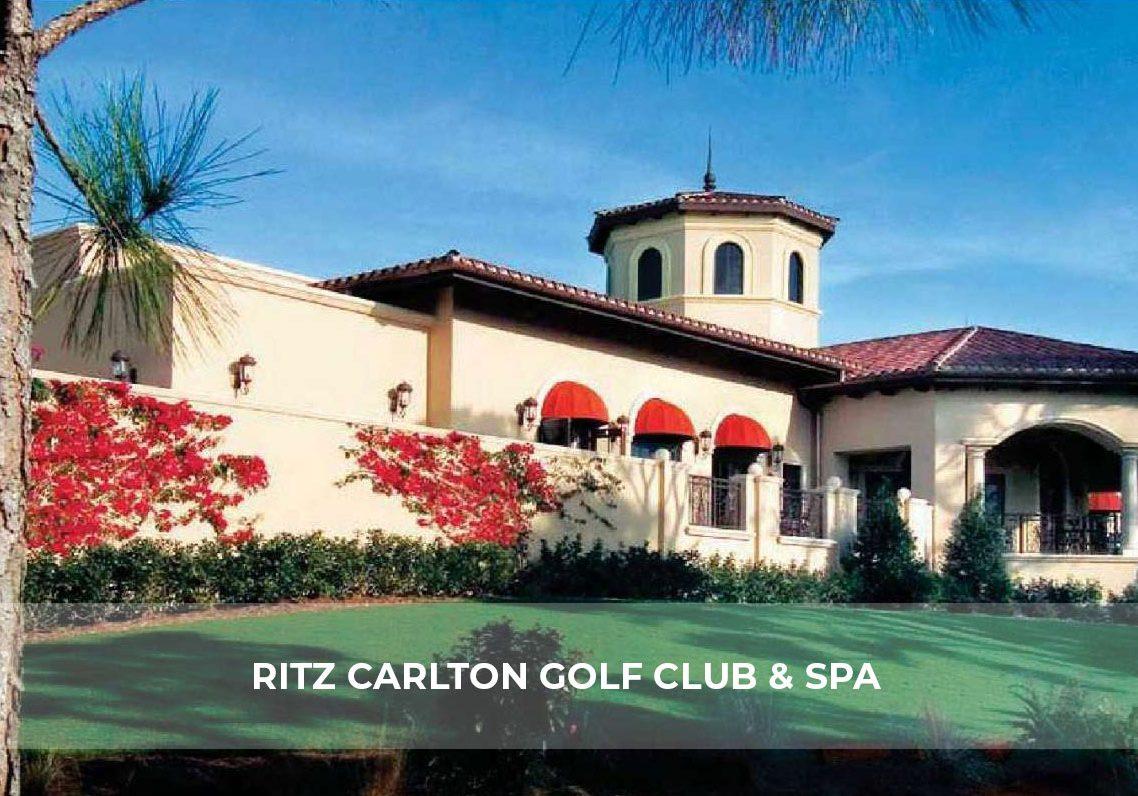 Ritz Carlton Golf Club Spa Hero